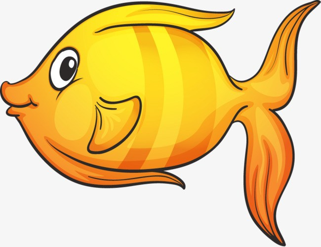 Yellow fish clipart 2 » Clipart Portal.
