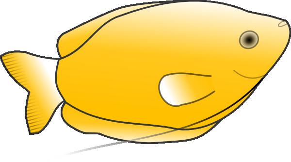 Yellow Fish clip art (119403) Free SVG Download / 4 Vector.