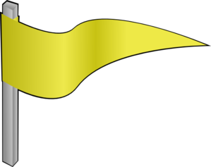 Waving Yellow Flag Clip Art at Clker.com.