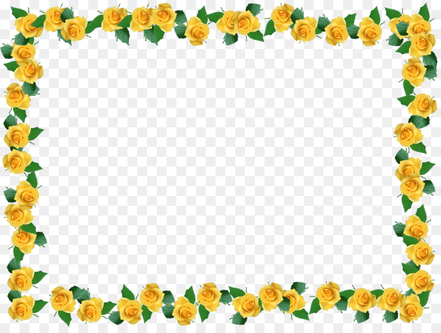 Flower Background Frame.