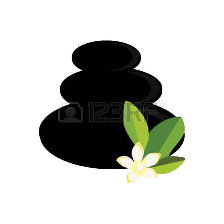 1,103 Zen Stones And Flower Stock Vector Illustration And Royalty.