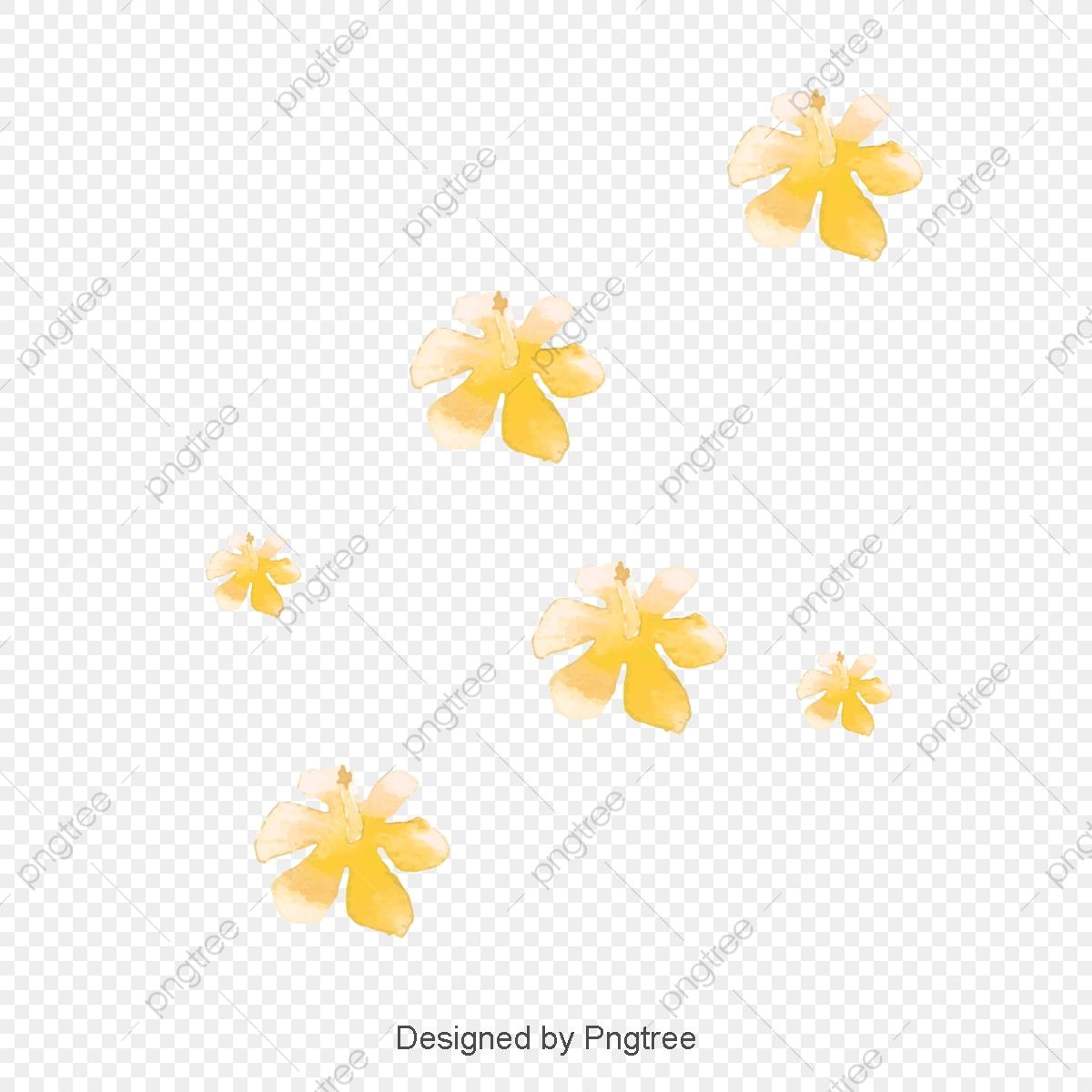 Yellow Flower Small Yellow Flowers, Flower Vector, Yellow Flower.