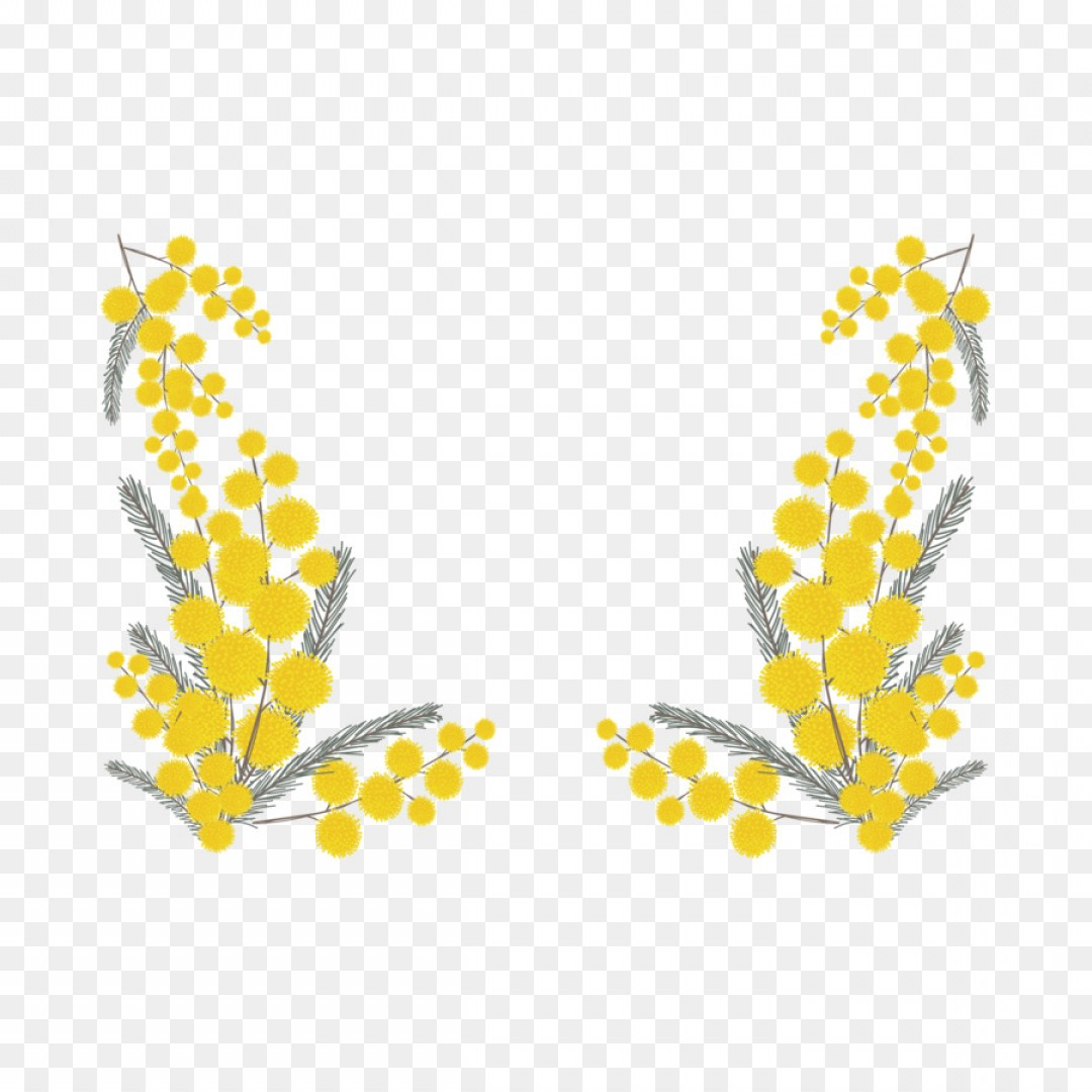 Png Cocktail Drawing Illustration Vector Yellow Flower.