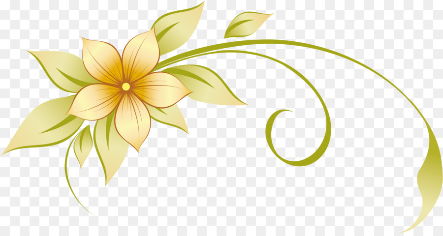 Best Of Flowers Vector Png Clipart.
