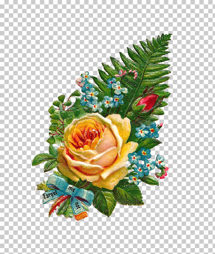Flower bouquet Rose Yellow , Yellow Flowers Bouquet PNG.