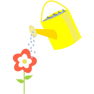 Growing Flower Clipart.