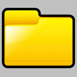 Yellow Folders.