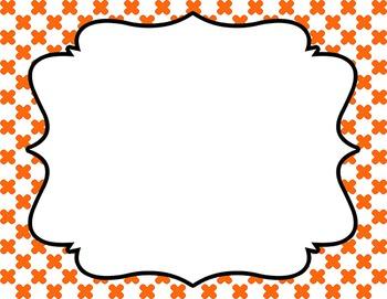 Fun Frames Clip Art.