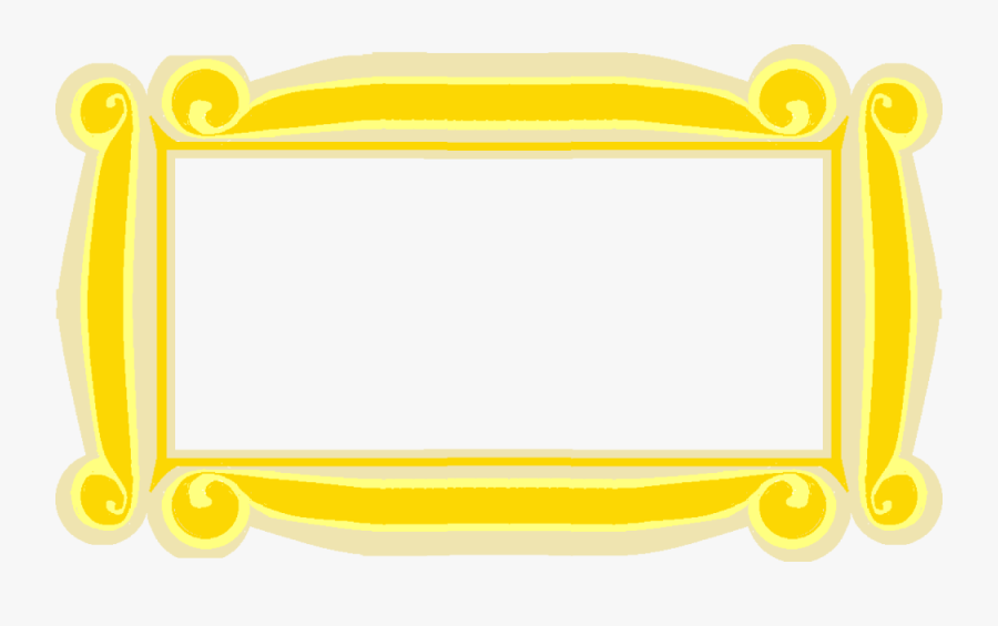 Friends Yellow Frame Clipart , Free Transparent Clipart.
