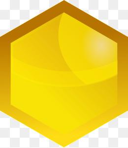 Yellow Gem Clipart.