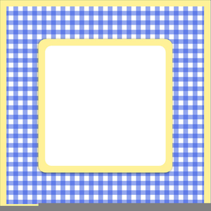 Free Pink Gingham Clipart.