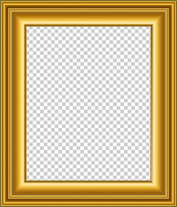 Frames Gold, square PNG clipart.