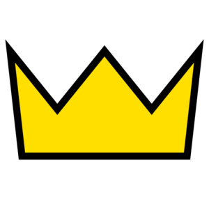 Yellow Gold Square Crown 2 Clip Art at Clker.com.