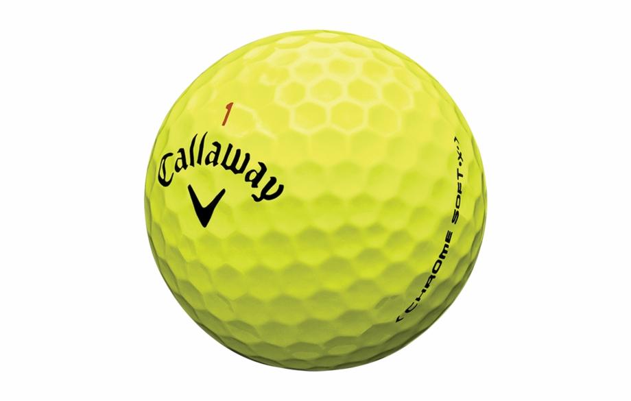 Callaway Chrome Soft X Golf Balls Balle De.