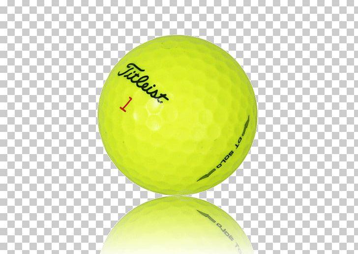 Golf Balls Titleist DT SoLo Yellow PNG, Clipart, Ball, Golf.