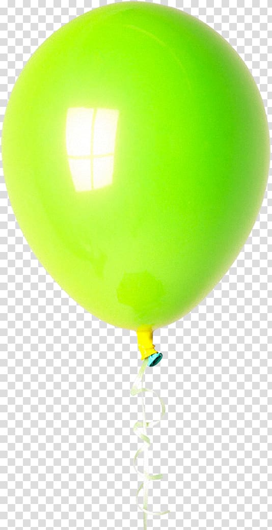 Green Balloon, colorful balloons transparent background PNG.