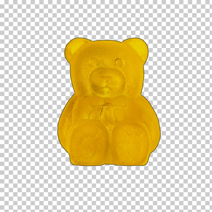 Gummy bear Snout Teddy bear, pattern with bear and.
