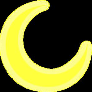 998 Crescent Moon free clipart.