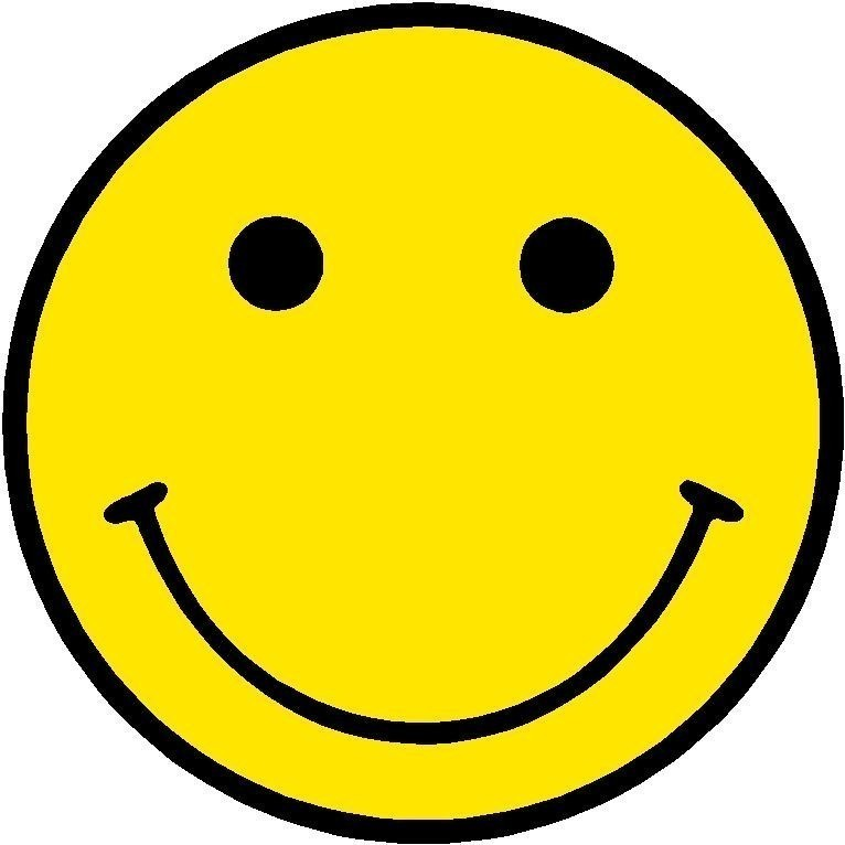 Yellow smiley face clip art clipart best.