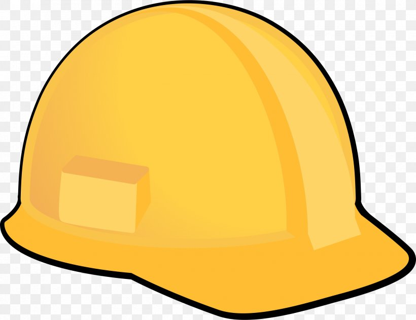 Hard Hats Clip Art Yellow Openclipart, PNG, 2400x1848px.