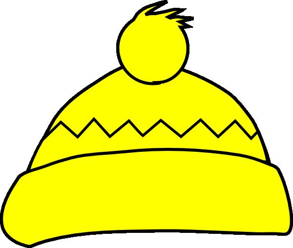 Yellow Winter Hat Clip Art at Clker.com.