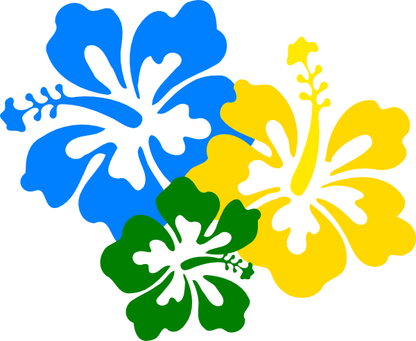 618 Hawaiian Flower free clipart.