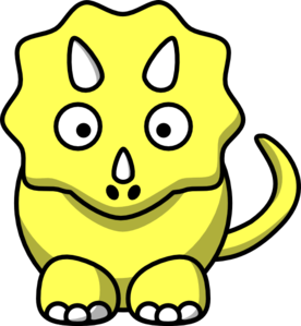 Triceratops Head Clipart.