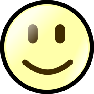 Yellow Happy Face Clip Art at Clker.com.