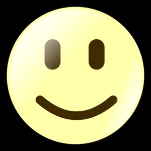 Yellow Happy Face Clip Art at Clker.com.