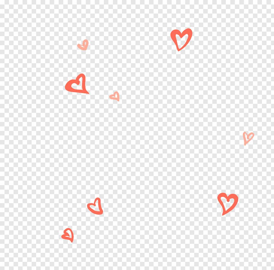 Red heart illustration, Heart Shape, Heart.