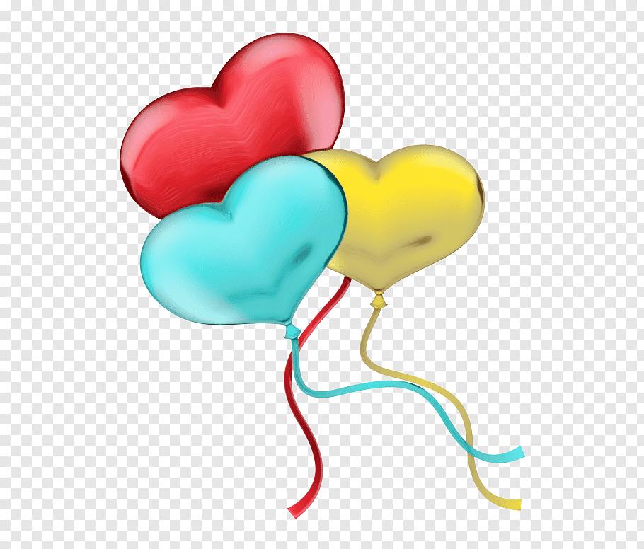 Love Background Heart, Balloon, Anagram Heart Balloon.