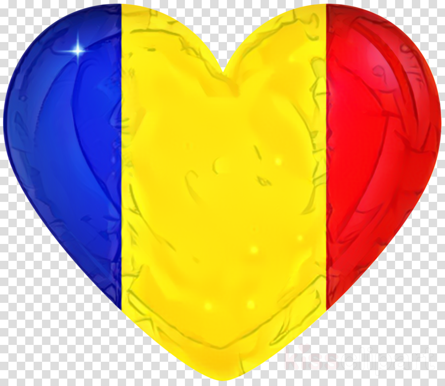 Yellow, Heart, Balloon, transparent png image & clipart free.