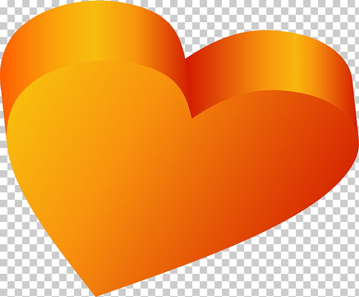 Desktop Yellow Heart, valentine PNG clipart.