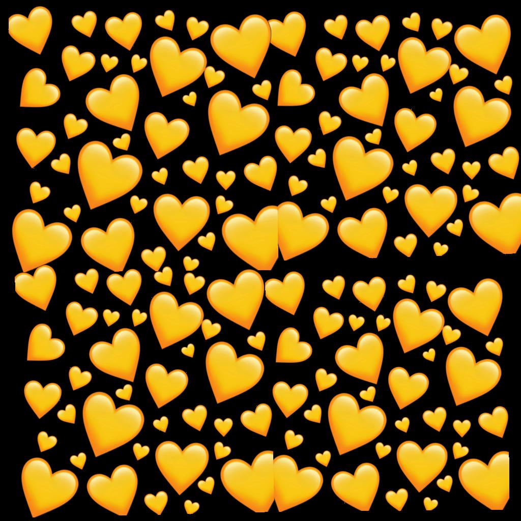 edit #post #blog #heart #hearts #orange #yellow.