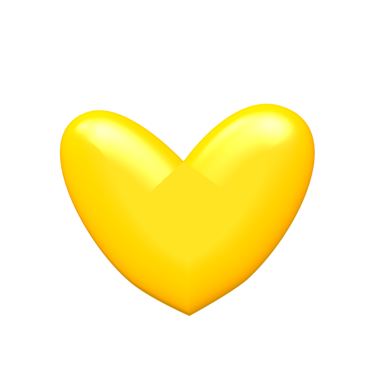 Free Yellow Heart Cliparts, Download Free Clip Art, Free.