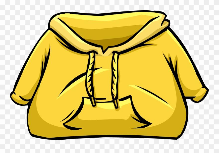 Yellow Hoodie.