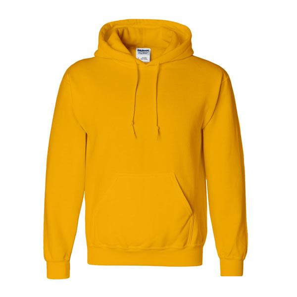 Pure Yellow Hoodie.