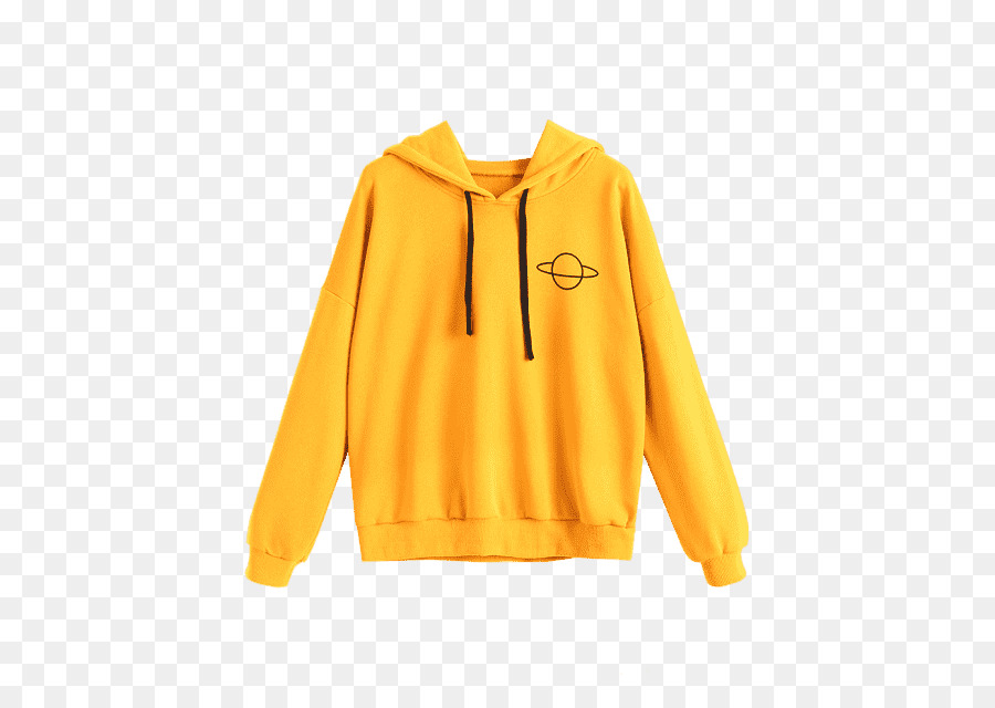 Hoodie Yellow png download.