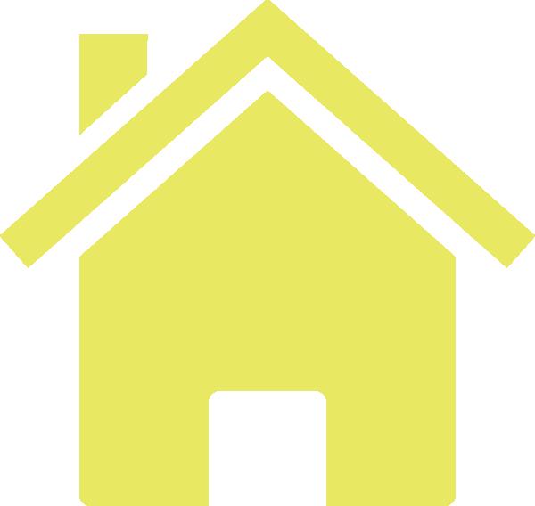 Yellow House Clip Art at Clker.com.