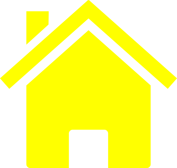 Simple Yellow House Clip Art at Clker.com.