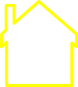 Yellow House Clipart.