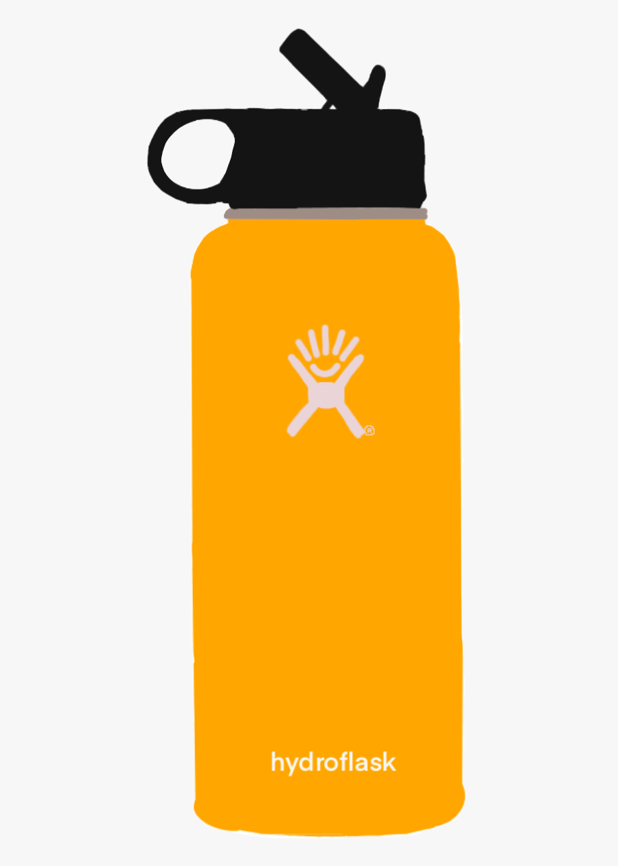 32 Oz Grey Hydro Flask , Free Transparent Clipart.