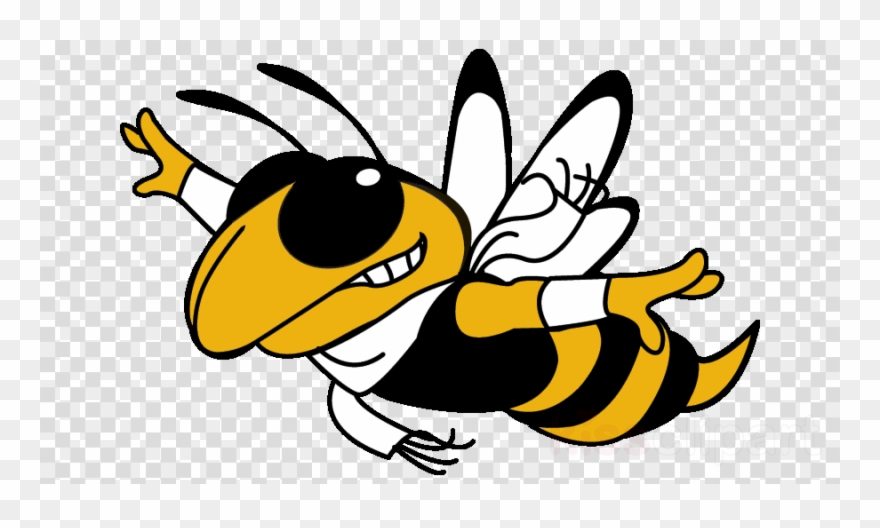 Download Free png Download Flying Yellow Jacket Clipart Georgia.