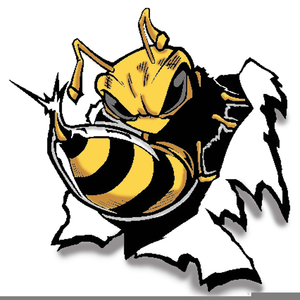 Mascot Yellow Jacket Clipart.