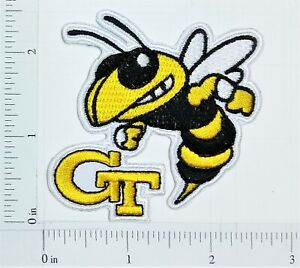 Details about NCAA Georgia Tech Yellow Jackets Logo embroidered Iron on  Patch High Quality.