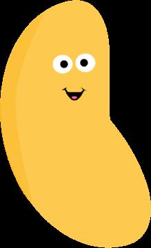 Jelly Bean Clip Art.