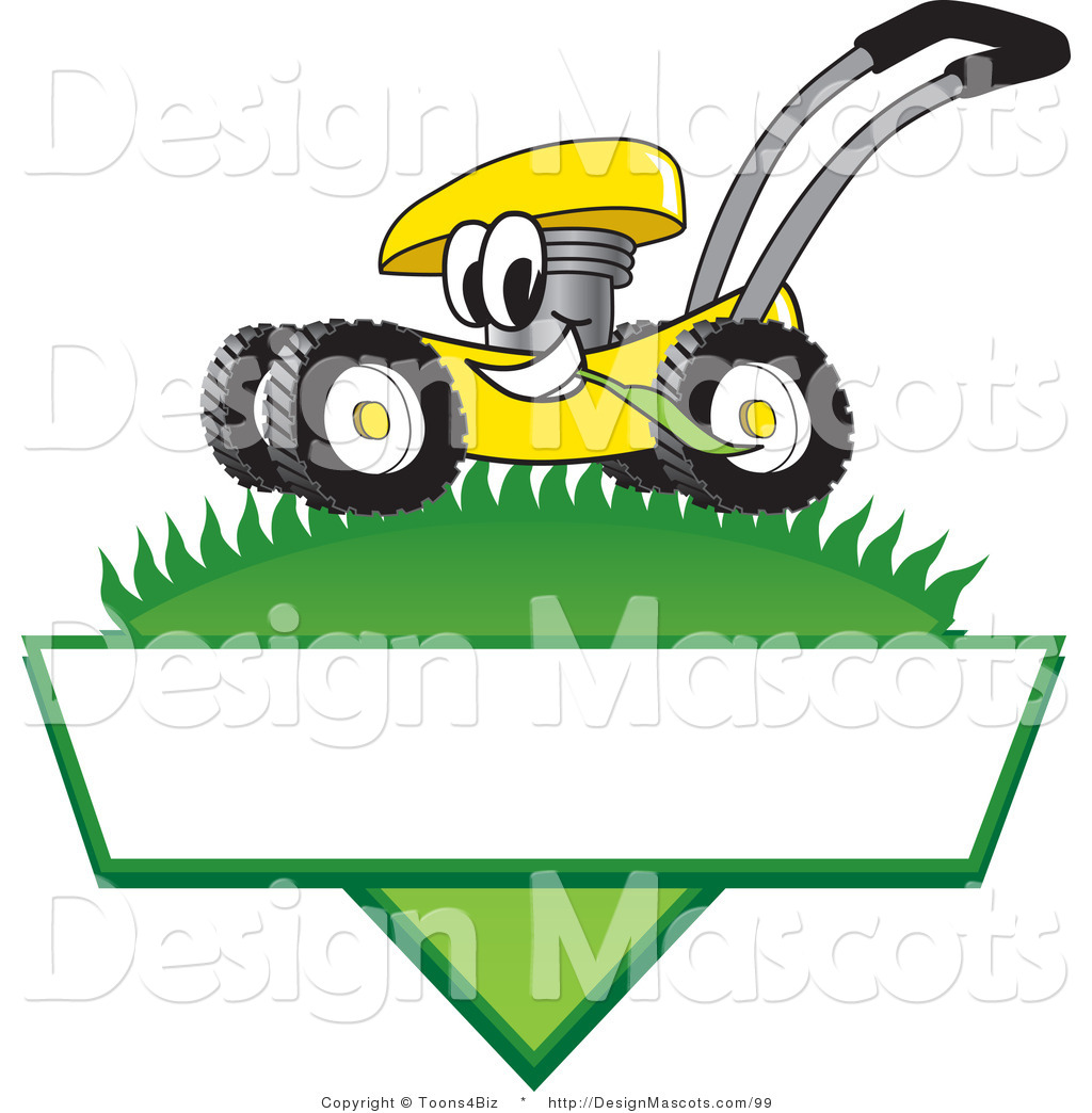 Royalty Free Lawn Mower Character Stock Mascot Designs.