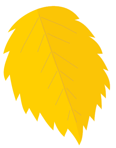 Yellow Oak Leaf Clipart.