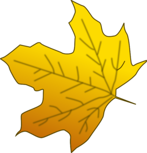 Yellow Leaves Clip Art.
