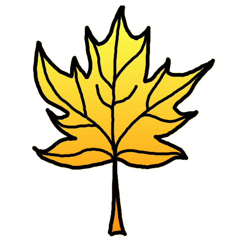 Yellow Leaves Clipart.
